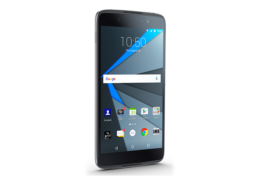 BlackBerry Unveils Its Second Android Smartphone