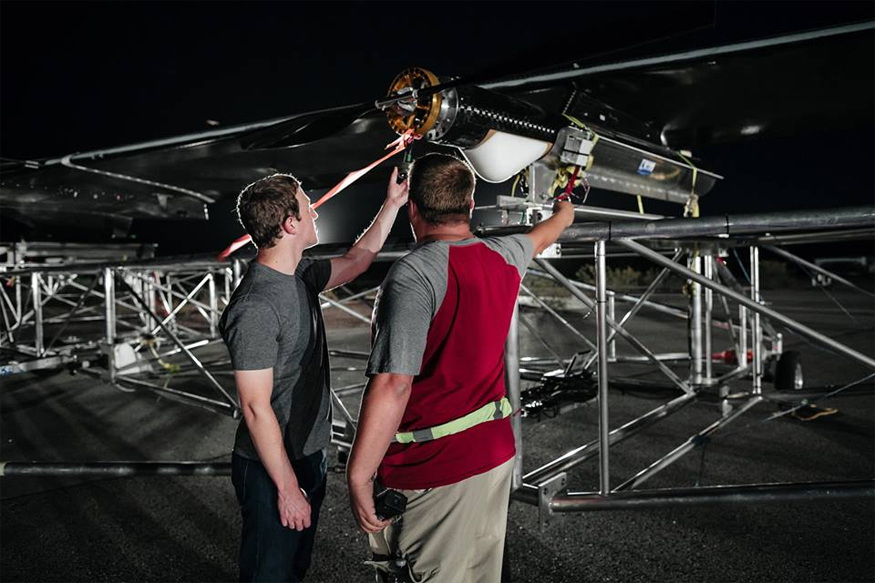 In Pictures: Facebook's Internet Delivering Drone Makes Debut Flight
