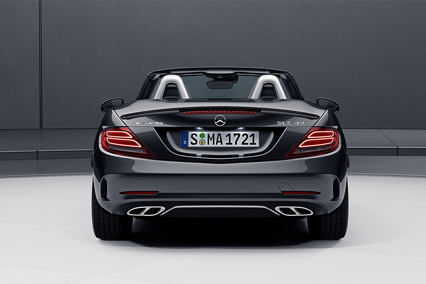 mercedes amg slc 43 to launch in india on july 26 news18. Black Bedroom Furniture Sets. Home Design Ideas
