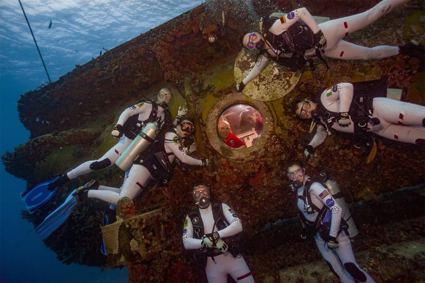NASA Astronauts Undergo Deep Sea Training for Mars Mission