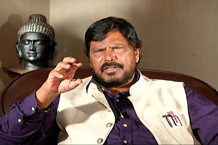 Reservations to Continue Till Casteism Eliminated:  Ramdas Athawale