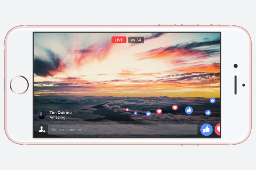 Facebook Live Adds Longer Streaming Time, Full-screen Mode