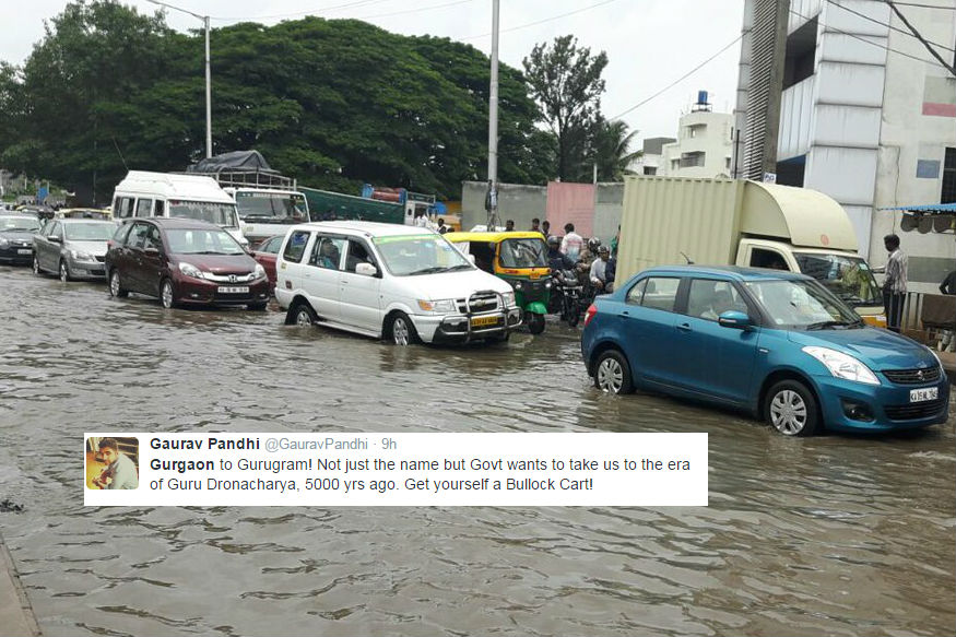 Gurugram To Venice In A Day: Twitter Reacts To Traffic Nightmare