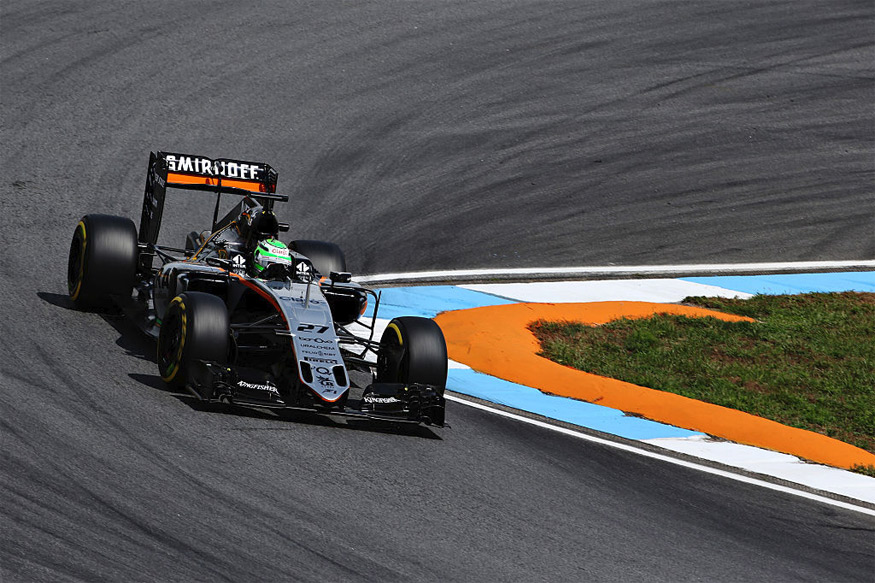Force India Drivers Finish with Double Points at German Grand Prix