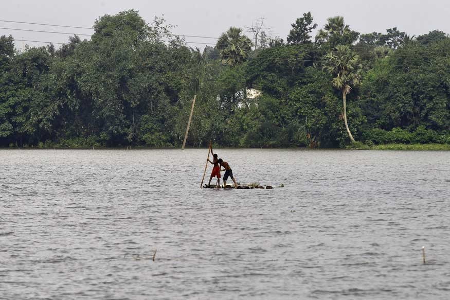 135 Houses Swept Away, 20 Villages Submerged by Ganga in Malda