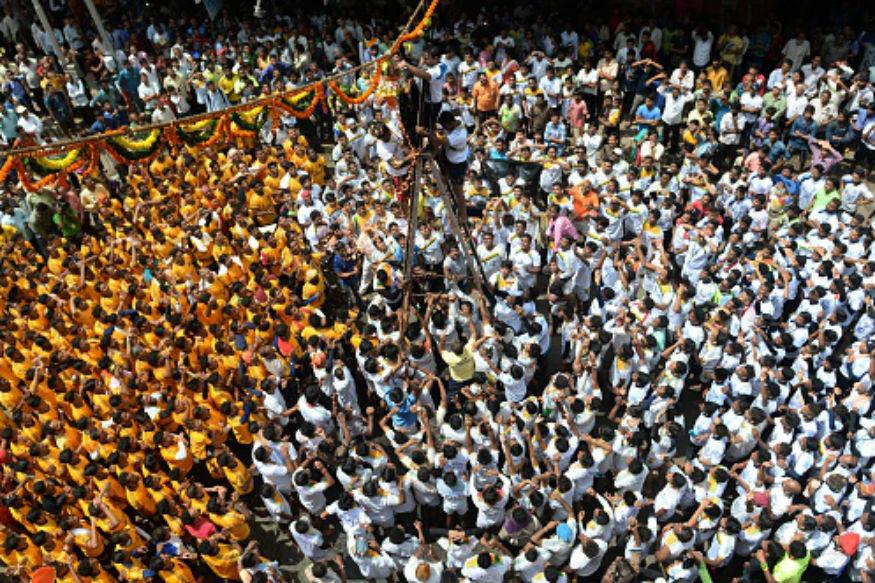 FIR Against Dahi Handi Mandals Associated with Raj Thackeray's MNS