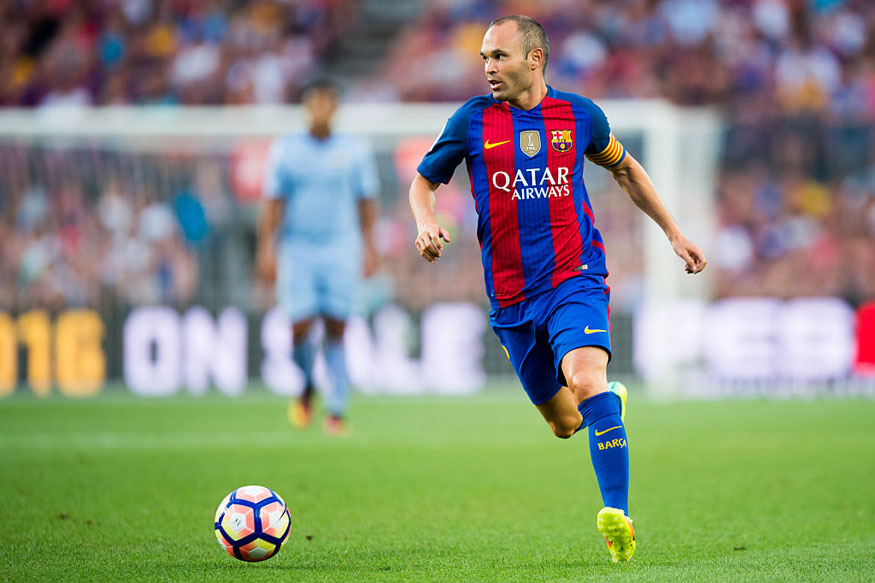 Andres Iniesta of FC Barcelona (Getty Images)