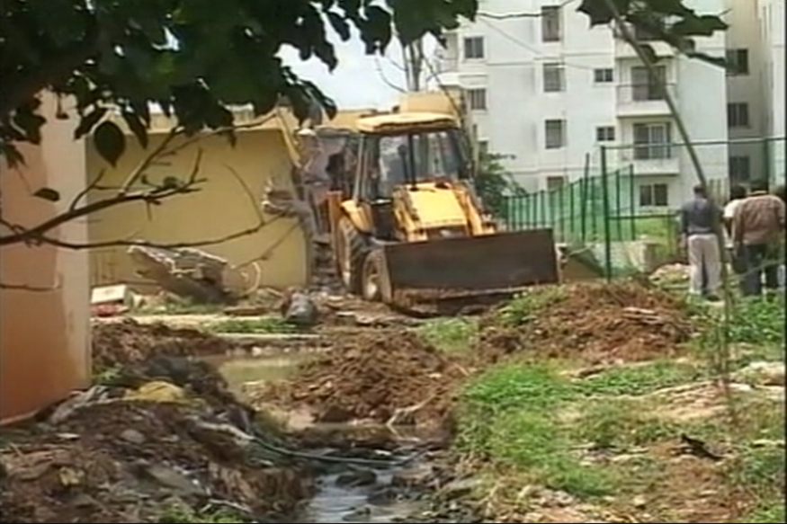 Using a Century Old Map for Demolition Angers People of Bengaluru