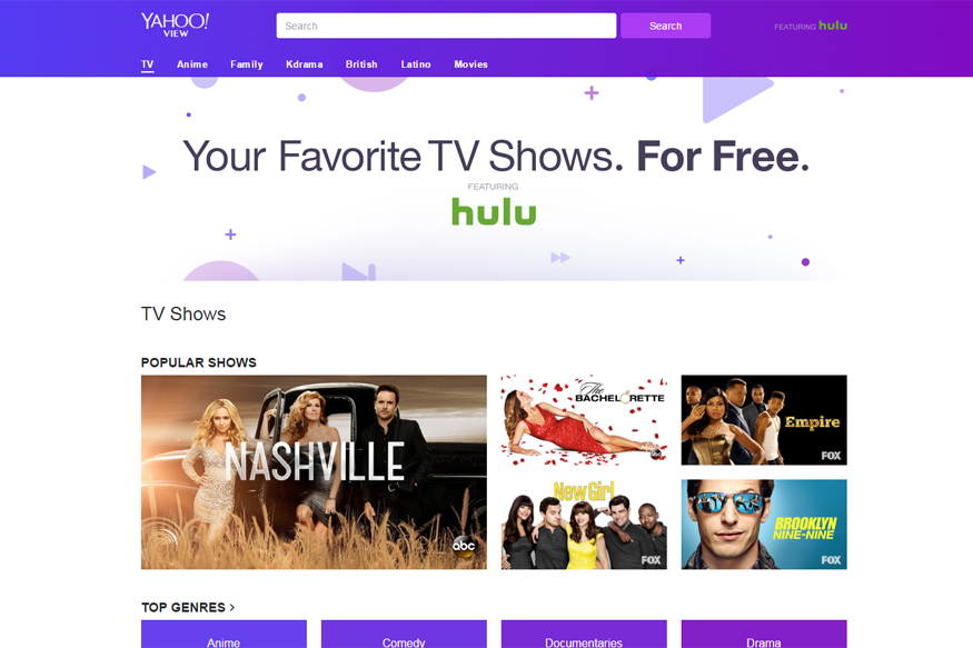 You Can Now Watch Hulu Shows On Yahoo 39 S New Tv Watching