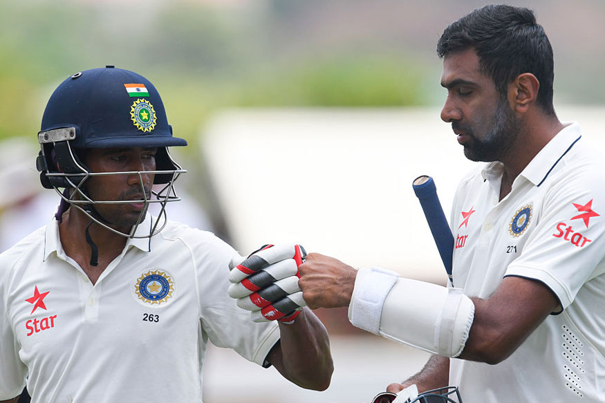 Ashwin to the rescue for India