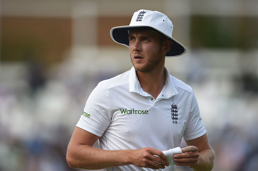 A file photo of England pacer Stuart Broad. (Getty Images)