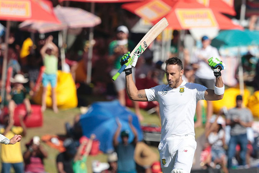 2nd Test: Faf du Plessis Ton Puts South Africa On Top on Day 2