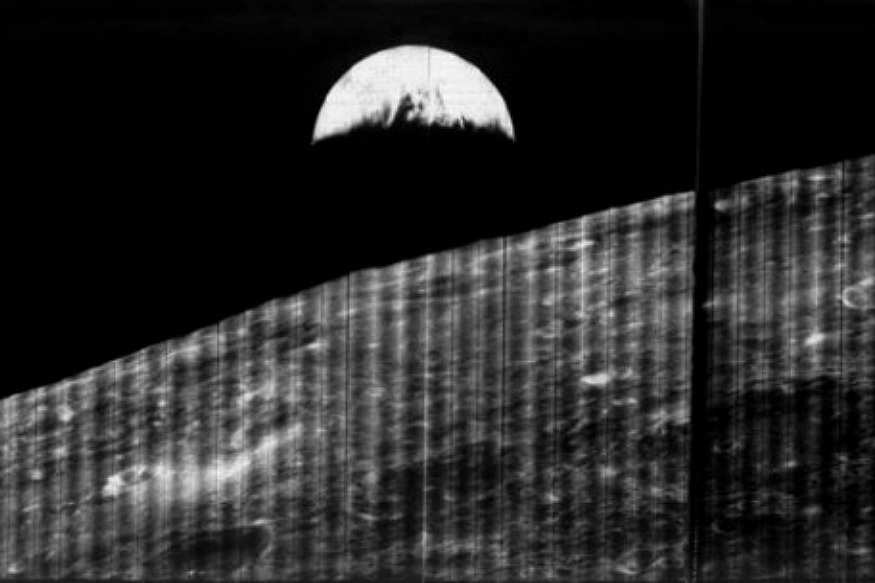 50 Years Ago, The World Received Earth's First Image Captured From Moon