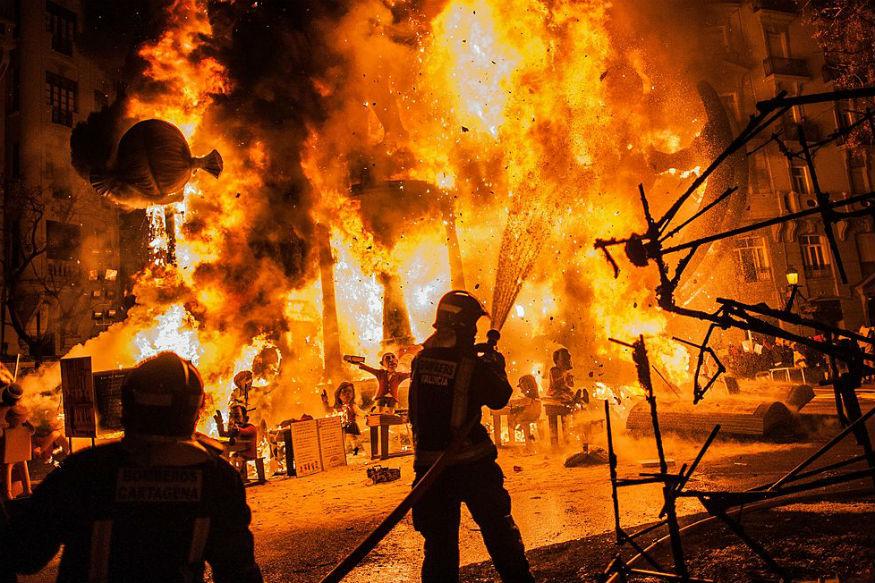 Kozhikode Fire: 10 Shops Gutted After Suspected Cylinder Blast