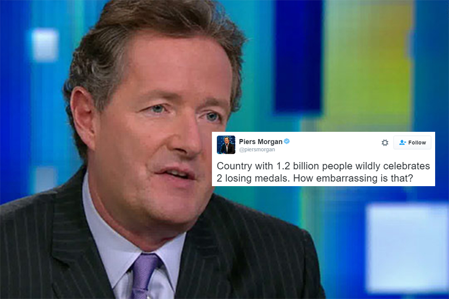 Piers Morgan Makes Fun of India's Olympic Heroes; Gets Slammed