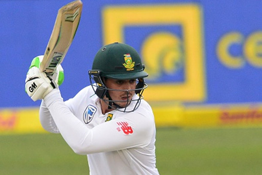 2nd Test: De Kock Top-Scores as South Africa Batsmen Flourish
