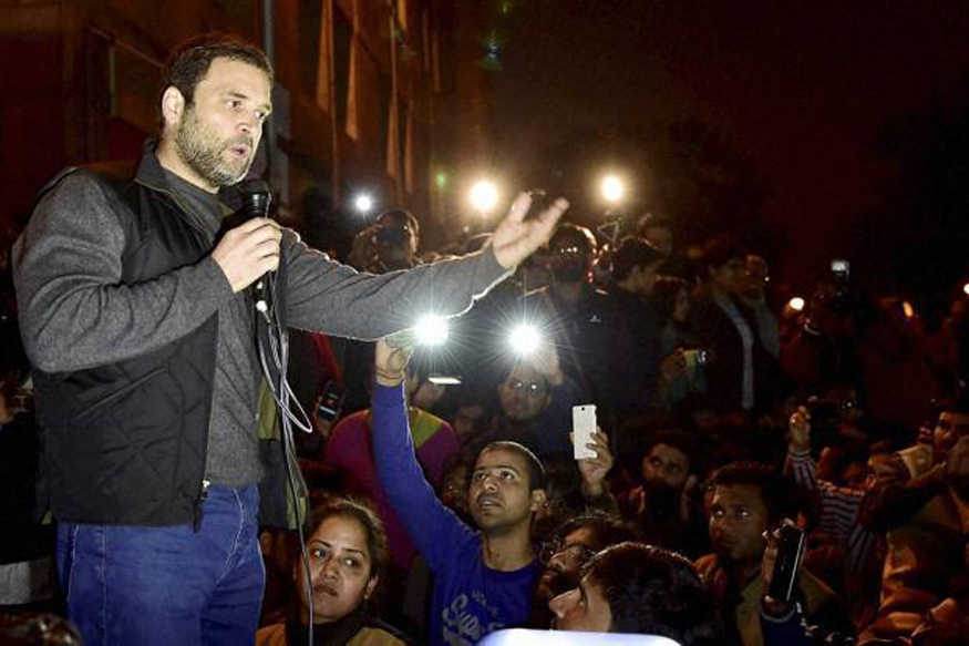 Scuffle Between Congress Workers, SPG at Rahul Gandhi's Bareilly Road Show