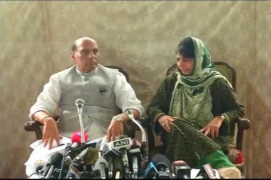 Rajnath Assures Alternative to Pellet Guns; Mehbooba Says 95% Kashmiris Want Peace