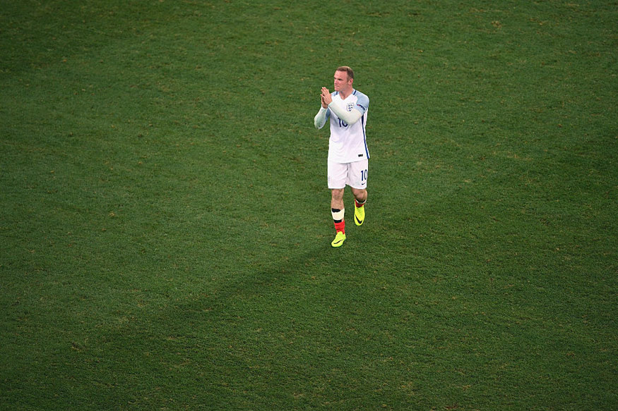 Wayne Rooney. (Getty Images)