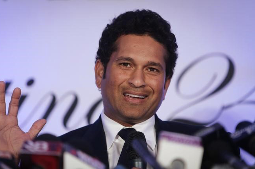 A file photo of Sachin Tendulkar during a press conference. (Reuters)