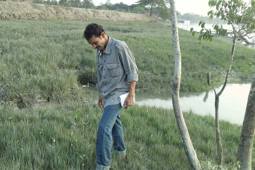 Farmer's Son Witnesses Climate Change in the Sunderbans, Turns the Island's Fate for the Better