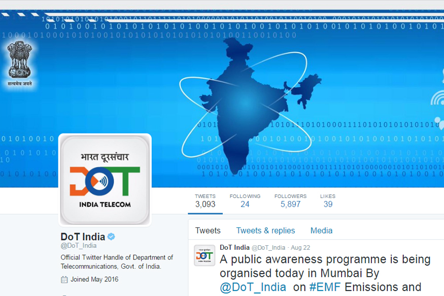 Telecom Department Resolves Over 1,800 Complaints on Twitter in Three Weeks