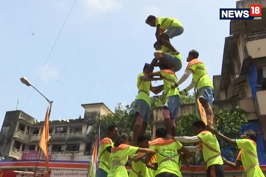 Mumbai Celebrates Dahi Handi on Janmashtami