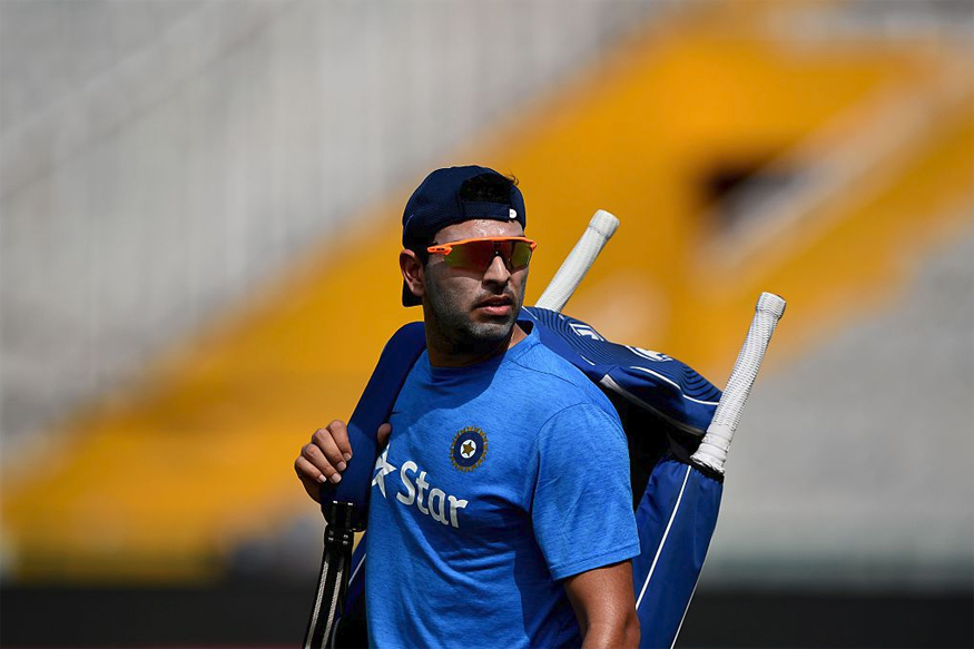 Yuvraj Singh. (Photo Credit: Getty Images)