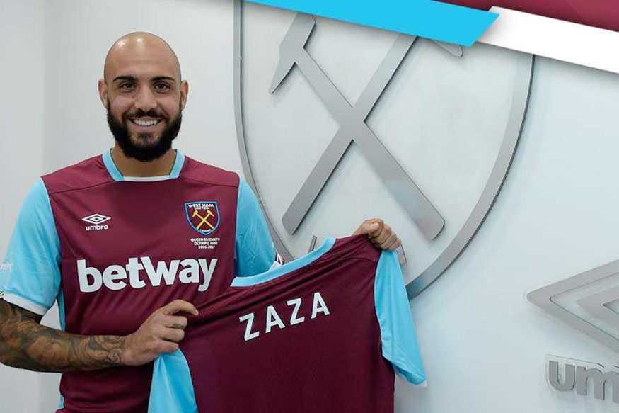 West Ham signs Zaza on loan from Juventus