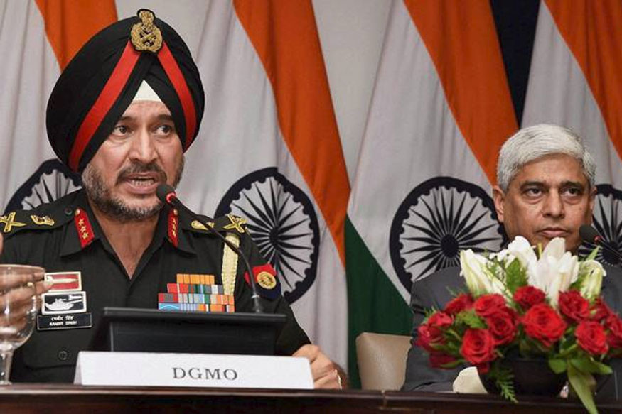 Take Steps to Ensure Peace Along LoC: Indian DGMO to Pak Counterpart