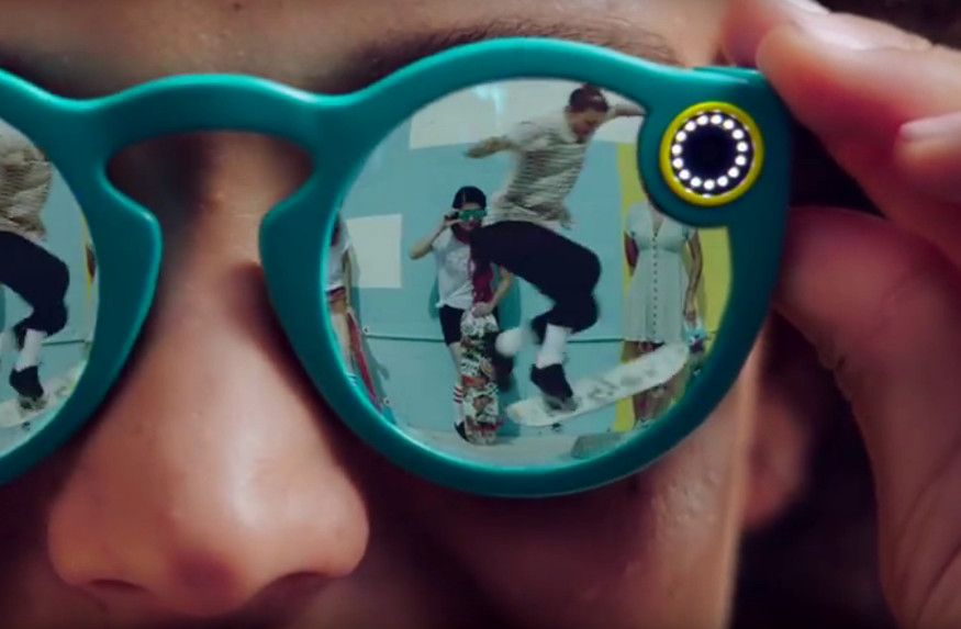 Snapchat Unveils Spectacles That Record 10 Second Videos