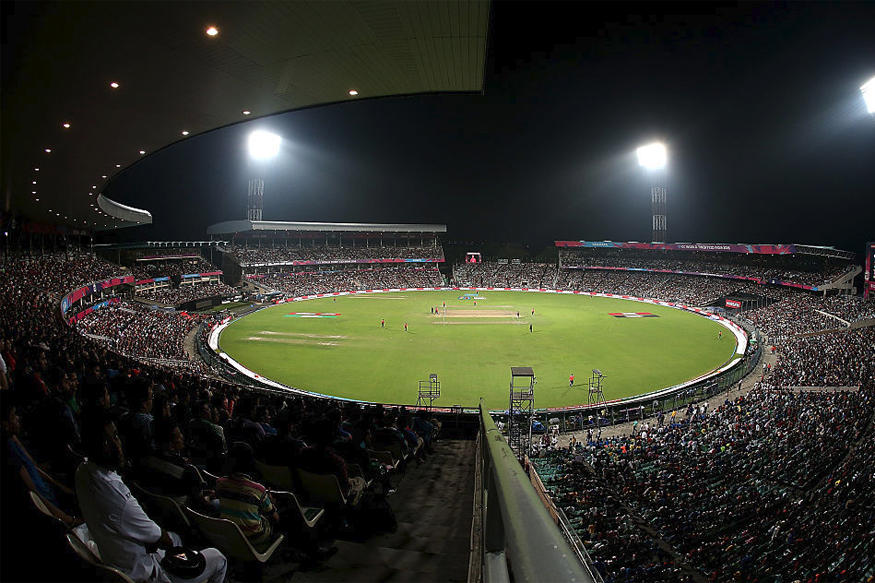 Eden Gardens Gears Up For India