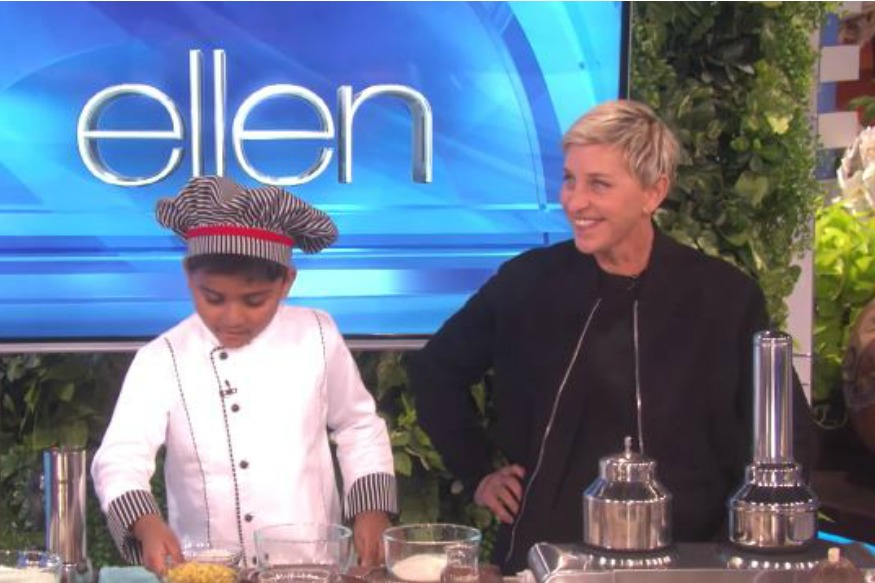 6-YO Indian Chef Makes It To The Ellen DeGeneres Show