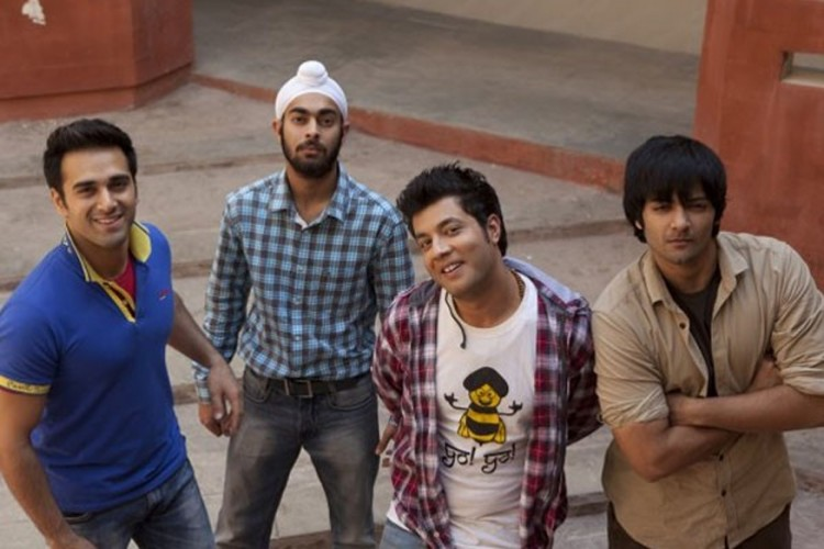 A still from Fukrey.