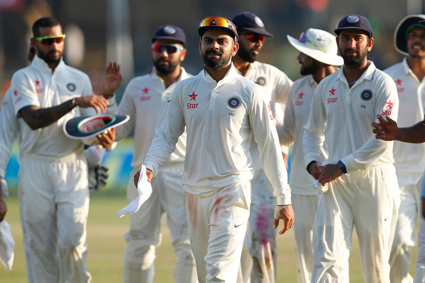 India to Reclaim Top Spot If They Win Kolkata Test Against New Zealand
