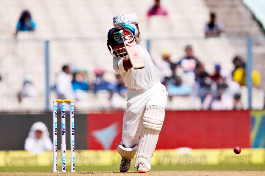 India vs New Zealand Live: Rock-Solid Pujara Steadies Team India