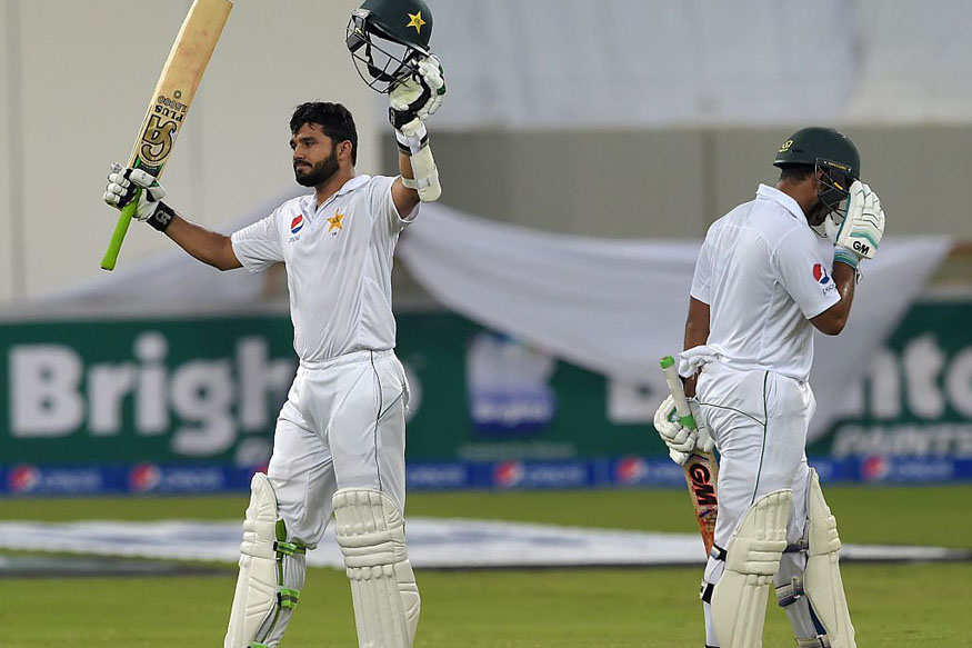 Azhar Ali Scores First Ever Day-Night Test Ton. (Getty Images)
