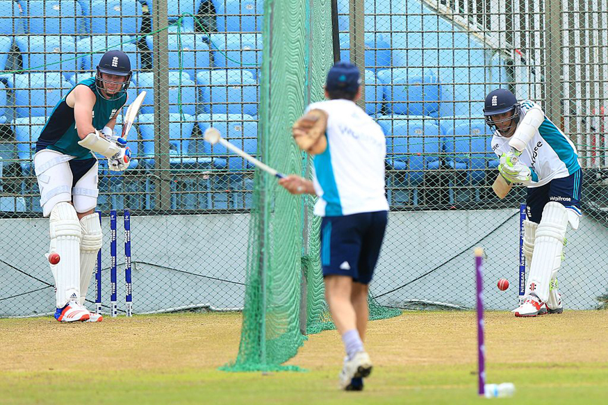 England Team Practice in Chittagong. (Getty Images)