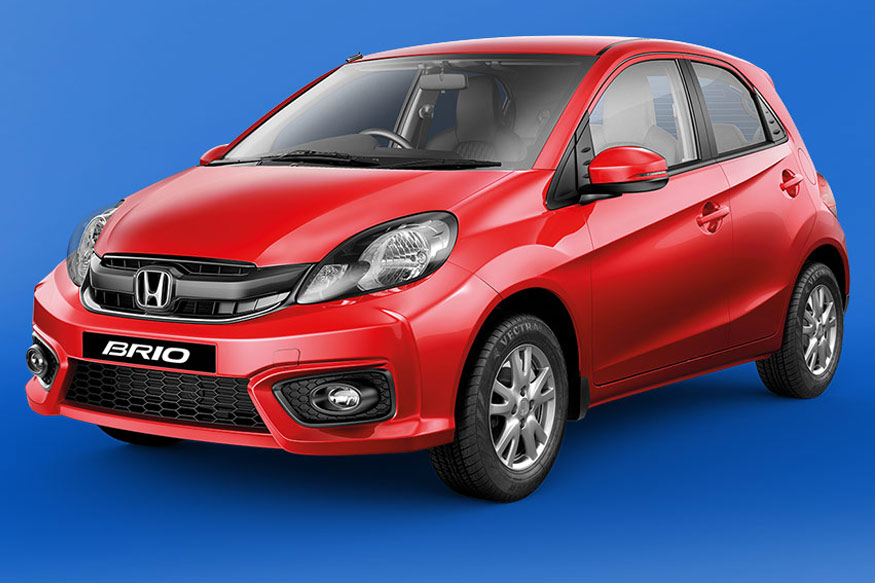 Honda Brio Facelift Launched At Rs 4.69 Lakhs, Gets
