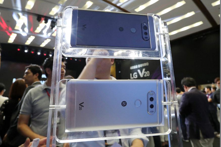 LG V20, Android Nougat, LG Electronics