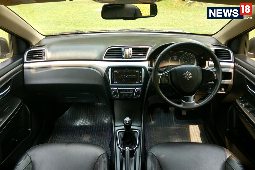 maruti suzuki ciaz shvs review a true blue sedan that delivers with luxury news18. Black Bedroom Furniture Sets. Home Design Ideas