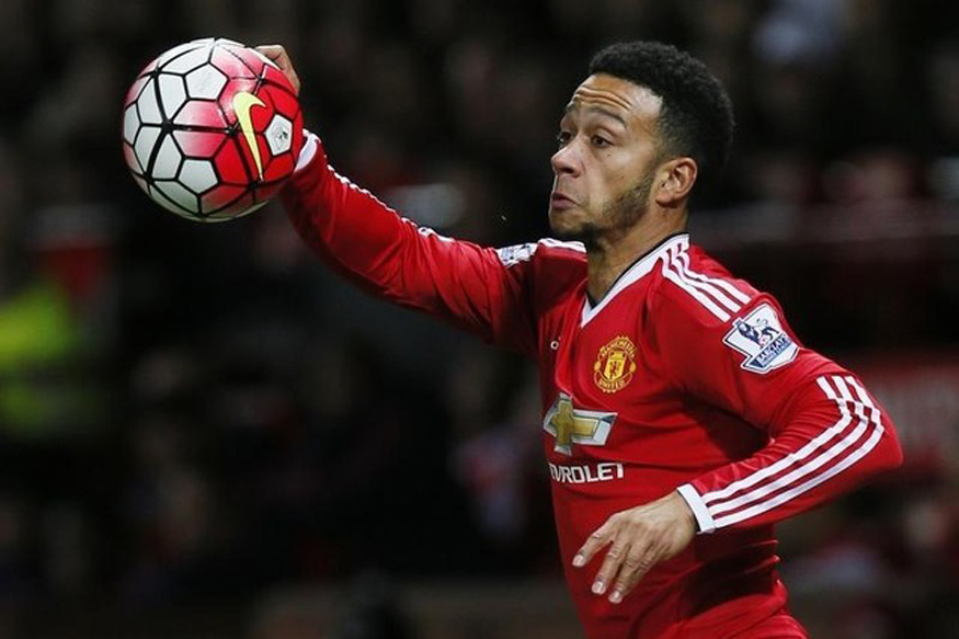 Football Soccer - Manchester United v Crystal Palace - Barclays Premier League - Old Trafford - 20/4/16 Manchester United's Memphis Depay Action Images via Reuters / Jason Cairnduff Livepic/Files