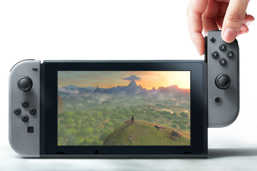 Nintendo Switch Home And Handheld Gaming Modular Console Released