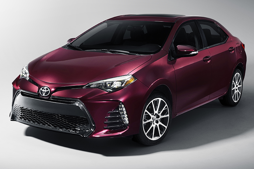 The Toyota Corolla 50th anniversary Edition.