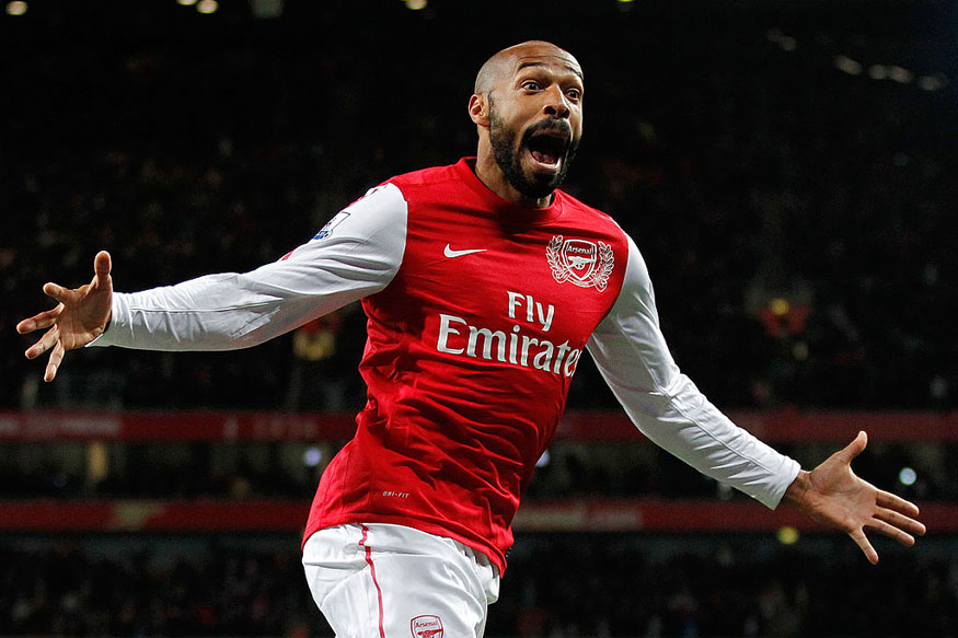 File Image of Thierry Henry