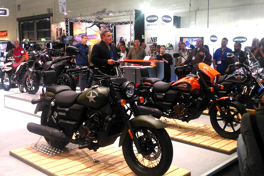 UM Motorcycles, renegade, intermot