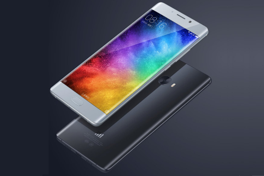 Xiaomi Mi Note 2 With Dual-curved Display Launched at a Starting Price of Around Rs 27,999