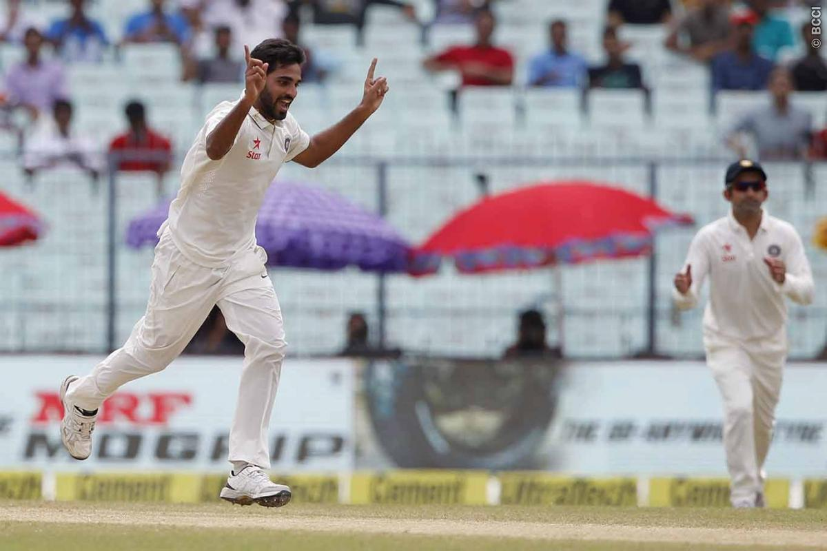 2nd Test: Bhuvneshwar Five-for Puts India in the Driver