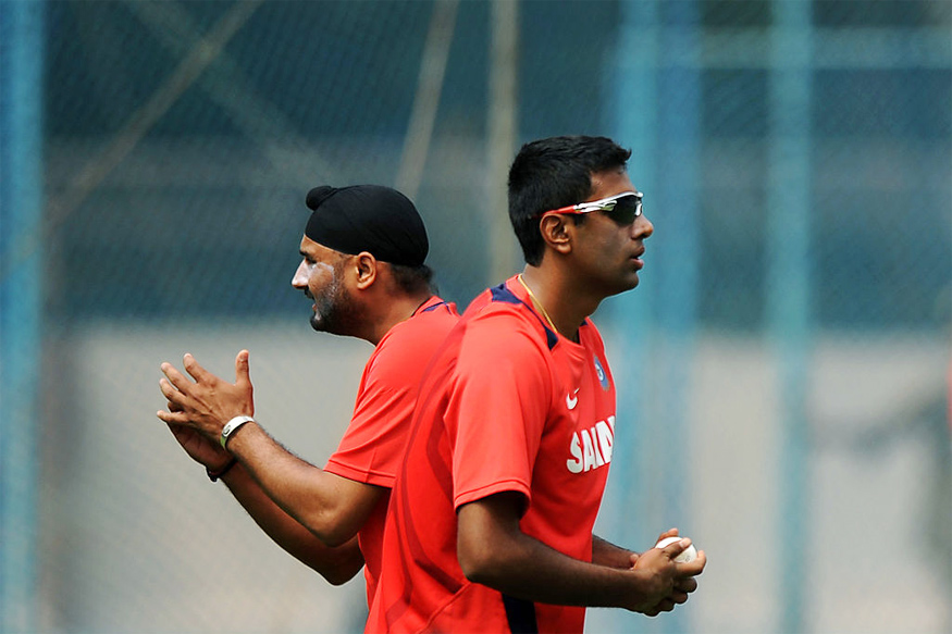 A file photo of Harbhajan Singh and Ravichandran Ashwin. (Getty Images)