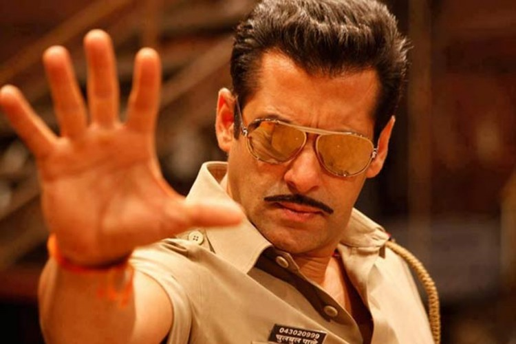 Image: A still from Dabangg